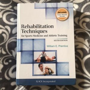 Rehabilitation Techniques for Sports Med textbook